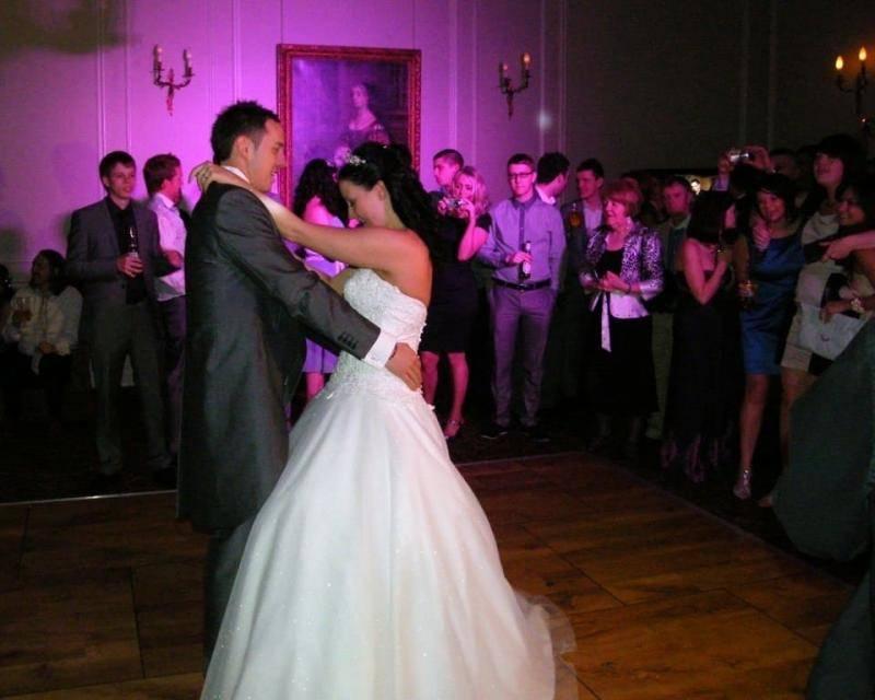 Openingsdans Bruidspaar